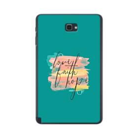 ジャパニーズグリーン&デザイン アルファベット Samsung Galaxy Tab A 10.1 S-Pen Version ポリカーボネート ハードケース