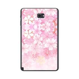 爛漫・ピンク&桜色 Samsung Galaxy Tab A 10.1 S-Pen Version ポリカーボネート ハードケース