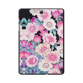 和の花柄 Samsung Galaxy Tab A 9.7 ポリカーボネート ハードケース