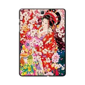 和・花魁&桜 Samsung Galaxy Tab A 9.7 ポリカーボネート ハードケース