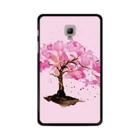 水彩画・桜の木 Samsung Galaxy Tab A 8.0 (2017) ポリカーボネート ハードケース