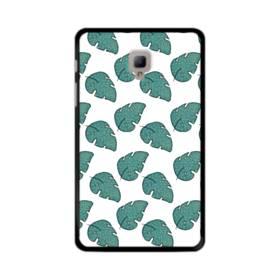 グリーン リーフ モチーフ green leaf motif Samsung Galaxy Tab A 8.0 (2017) ポリカーボネート ハードケース