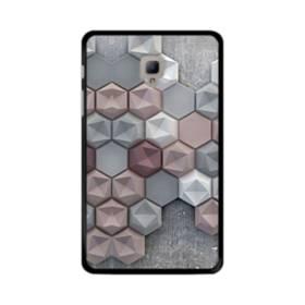 つぶつぶ六角形 Samsung Galaxy Tab A 8.0 (2017) ポリカーボネート ハードケース