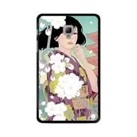 ザ・桜&ジャパンガール! Samsung Galaxy Tab A 8.0 (2017) ポリカーボネート ハードケース