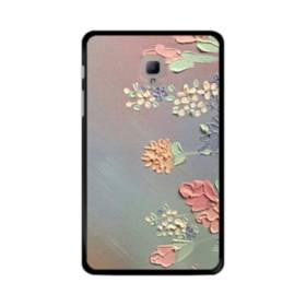 art フラワー 油絵 花 flower アート Samsung Galaxy Tab A 8.0 (2017) ポリカーボネート ハードケース