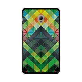 抽象的なモザイクパターン Samsung Galaxy Tab A 8.0 (2017) ポリカーボネート ハードケース