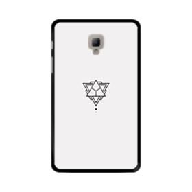 デザイン アートな三角003 Samsung Galaxy Tab A 8.0 (2017) ポリカーボネート ハードケース
