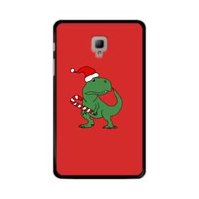 クリスマス 可愛い恐竜さん Samsung Galaxy Tab A 8.0 (2017) ポリカーボネート ハードケース