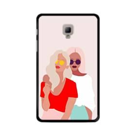 女の子シリーズ008 フレンドリー 友達 Samsung Galaxy Tab A 8.0 (2017) ポリカーボネート ハードケース