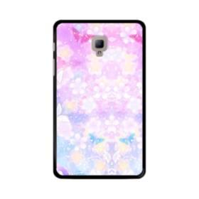 爛漫・抽象的な桜の花 Samsung Galaxy Tab A 8.0 (2017) ポリカーボネート ハードケース