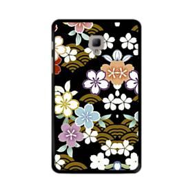 和風・桜&浪 Samsung Galaxy Tab A 8.0 (2017) ポリカーボネート ハードケース