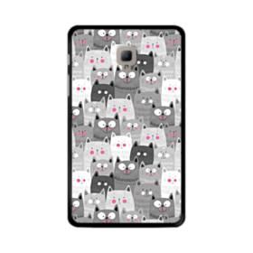 多くの子猫 Samsung Galaxy Tab A 8.0 (2017) ポリカーボネート ハードケース