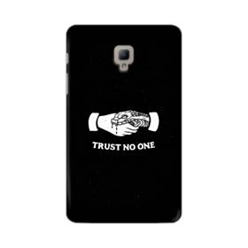 デザイン アルファベット008 trust no one Samsung Galaxy Tab A 8.0 (2017) ポリカーボネート ハードケース
