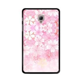 爛漫・ピンク&桜色 Samsung Galaxy Tab A 8.0 (2017) ポリカーボネート ハードケース