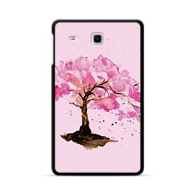 水彩画・桜の木 Samsung Galaxy Tab E 8.0 ポリカーボネート ハードケース