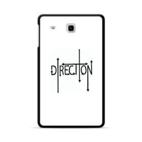 """デザイン アルファベット003、""""direction"""" Samsung Galaxy Tab E 8.0 ポリカーボネート ハードケース"""