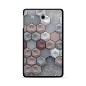 つぶつぶ六角形 Samsung Galaxy Tab E 8.0 ポリカーボネート ハードケース