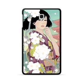ザ・桜&ジャパンガール! Samsung Galaxy Tab E 8.0 ポリカーボネート ハードケース