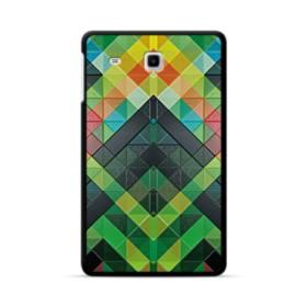抽象的なモザイクパターン Samsung Galaxy Tab E 8.0 ポリカーボネート ハードケース