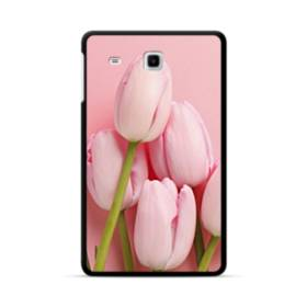 ピンク&ピンク Samsung Galaxy Tab E 8.0 ポリカーボネート ハードケース