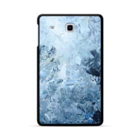 イケメン模様・水色のアート Samsung Galaxy Tab E 8.0 ポリカーボネート ハードケース