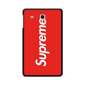 ニューヨークより赤のシュプリーム(super me) Samsung Galaxy Tab E 8.0 ポリカーボネート ハードケース