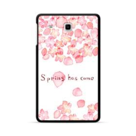 桜&デザイン英文 Samsung Galaxy Tab E 8.0 ポリカーボネート ハードケース