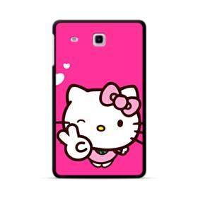 永遠に可愛い!キティちゃん Samsung Galaxy Tab E 8.0 ポリカーボネート ハードケース