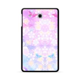 爛漫・抽象的な桜の花 Samsung Galaxy Tab E 8.0 ポリカーボネート ハードケース