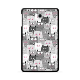 多くの子猫 Samsung Galaxy Tab E 8.0 ポリカーボネート ハードケース