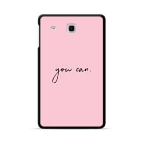 デザイン・アルファベット:you can Samsung Galaxy Tab E 8.0 ポリカーボネート ハードケース