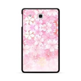 爛漫・ピンク&桜色 Samsung Galaxy Tab E 8.0 ポリカーボネート ハードケース