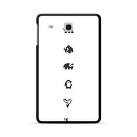 デザイン アートな動物たち003 Samsung Galaxy Tab E 8.0 ポリカーボネート ハードケース