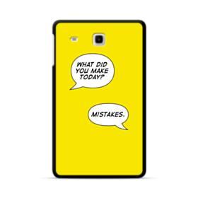 デザイン アルファベット(トーク) Samsung Galaxy Tab E 8.0 ポリカーボネート ハードケース