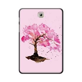水彩画・桜の木 Samsung Galaxy Tab S2 8.0 ポリカーボネート ハードケース