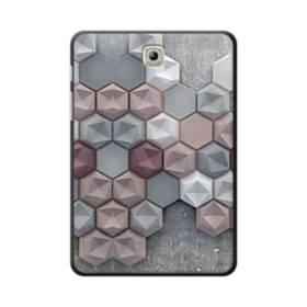 つぶつぶ六角形 Samsung Galaxy Tab S2 8.0 ポリカーボネート ハードケース