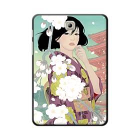 ザ・桜&ジャパンガール! Samsung Galaxy Tab S2 8.0 ポリカーボネート ハードケース