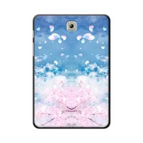 桜の花びら Samsung Galaxy Tab S2 8.0 ポリカーボネート ハードケース