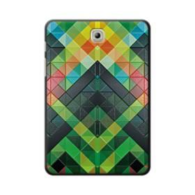 抽象的なモザイクパターン Samsung Galaxy Tab S2 8.0 ポリカーボネート ハードケース
