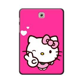 永遠に可愛い!キティちゃん Samsung Galaxy Tab S2 8.0 ポリカーボネート ハードケース