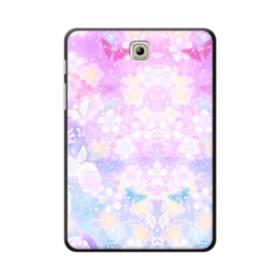 爛漫・抽象的な桜の花 Samsung Galaxy Tab S2 8.0 ポリカーボネート ハードケース