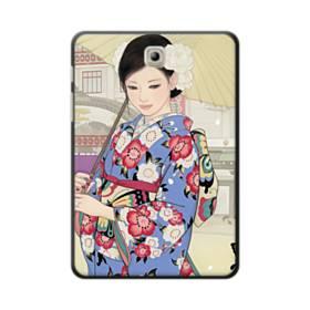 こんにちは、ジャパンガール! Samsung Galaxy Tab S2 8.0 ポリカーボネート ハードケース