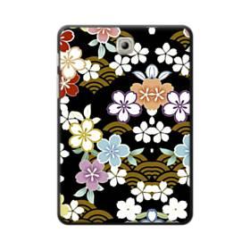 和風・桜&浪 Samsung Galaxy Tab S2 8.0 ポリカーボネート ハードケース