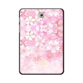 爛漫・ピンク&桜色 Samsung Galaxy Tab S2 8.0 ポリカーボネート ハードケース