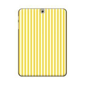 しましま イエロー Samsung Galaxy Tab S2 9.7 ポリカーボネート ハードケース