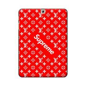 ルイ・ヴィトン&シュプリーム赤バージョン) Samsung Galaxy Tab S2 9.7 ポリカーボネート ハードケース