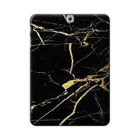ゴールド ブラック   マーブル Samsung Galaxy Tab S2 9.7 ポリカーボネート ハードケース