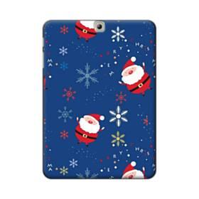 クリスマス デザイン サンタさん・モチーフ Samsung Galaxy Tab S2 9.7 ポリカーボネート ハードケース