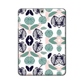アートなリーフのモチーフ② Samsung Galaxy Tab S2 9.7 ポリカーボネート ハードケース