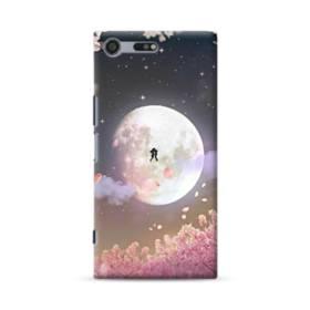 爛漫・夜桜&私たち Sony Xperia XZ Premium ポリカーボネート ハードケース